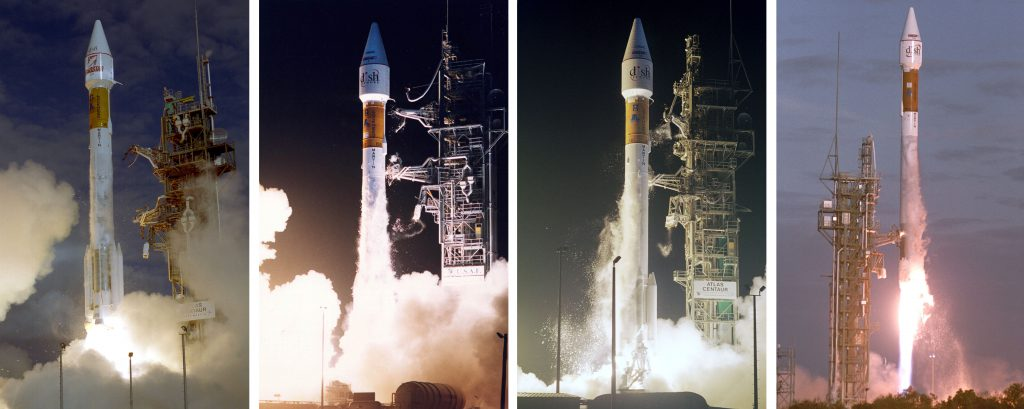 Previous Atlas launches for EchoStar. Credit: Lockheed Martin and ILS