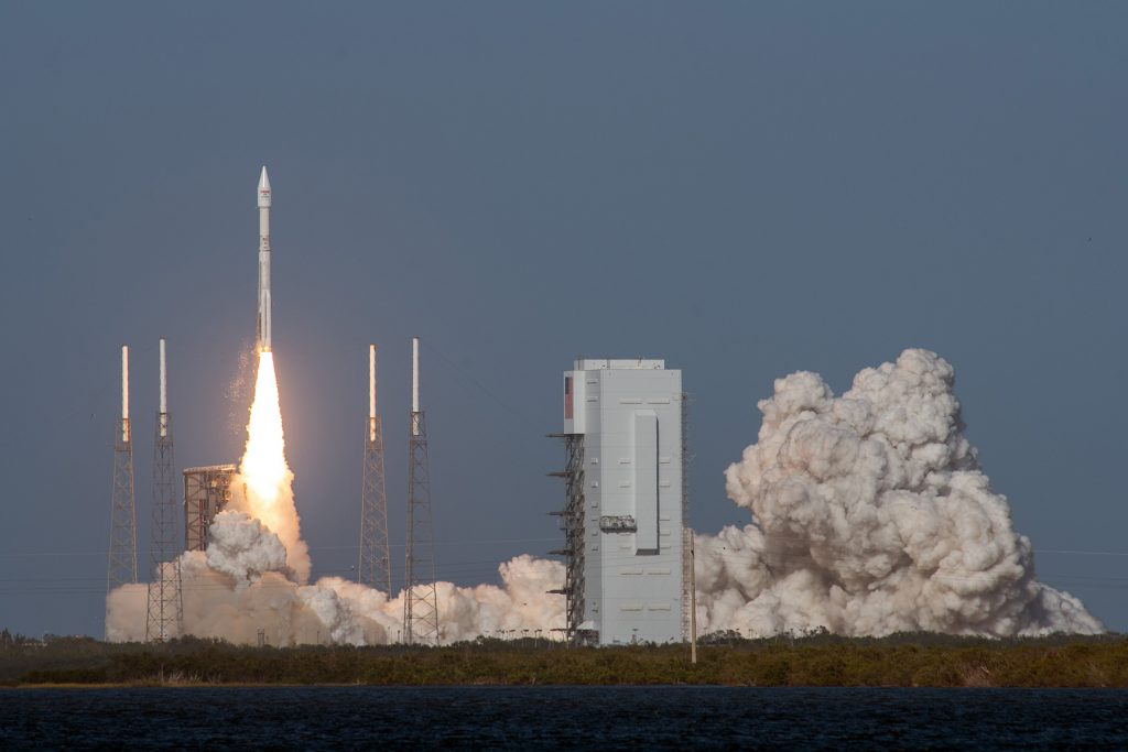 Official launch photo. Credit: United Launch Alliance