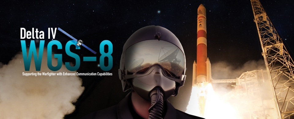 The WGS 8 launch poster. Credit: United Launch Alliance