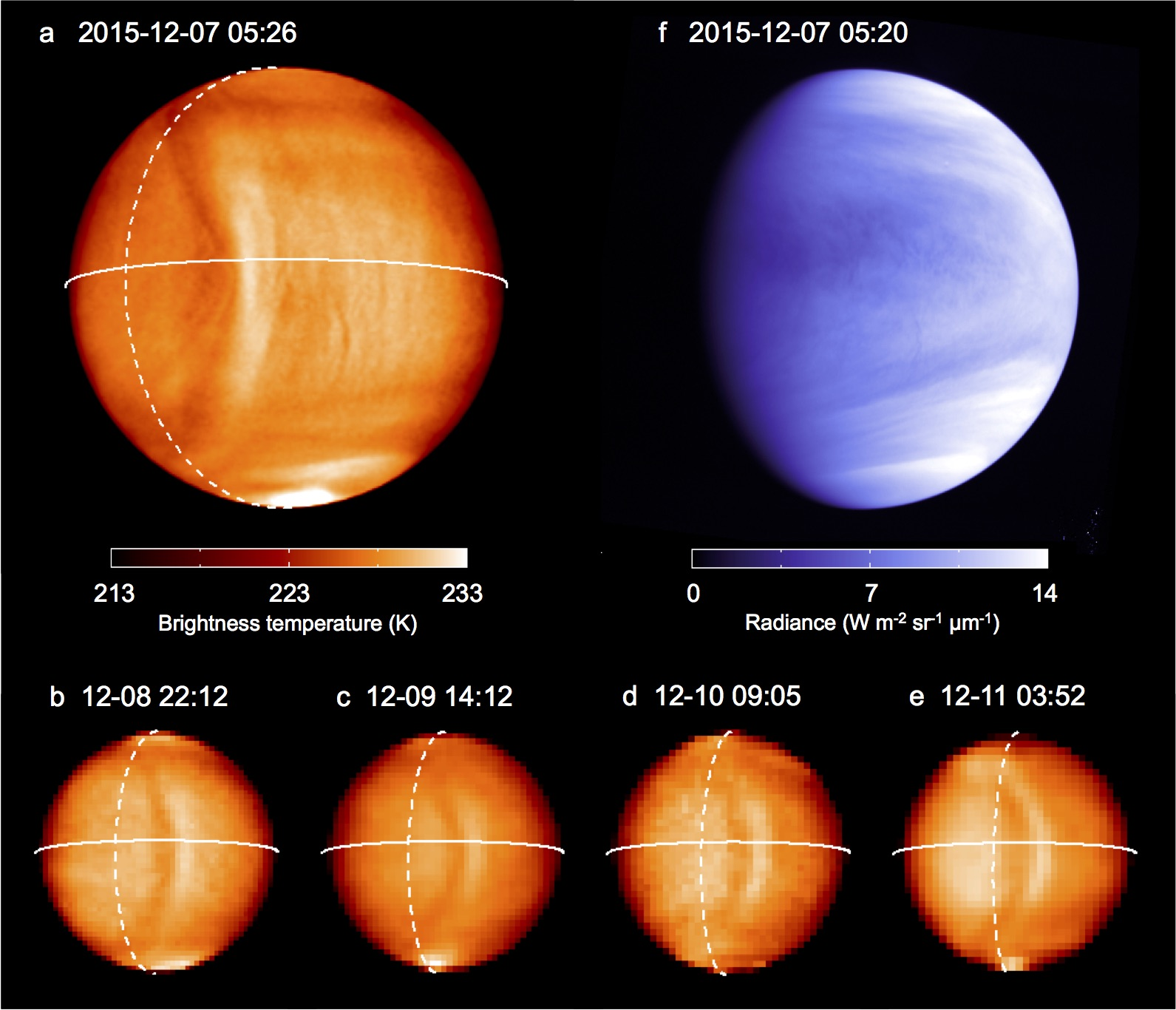 japanese spacecraft spots planet spanning wave on venus astronomy now