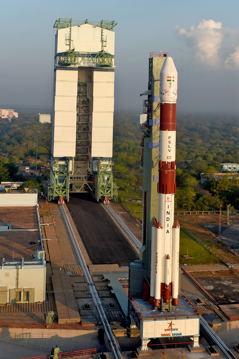 polar satellite launch vehicle India's polar satellite launch vehicle will lift the cartosat-2er satellite into orbit to join the country's cartosat fleet that operates high-resolution, multi-band observation satellites for.