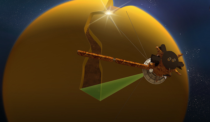 Cassini sails by Saturn's moon Titan for last time ...