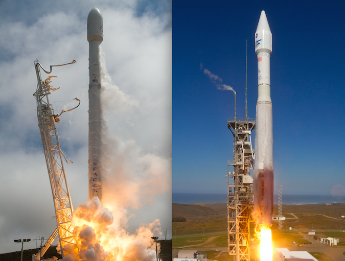 SpaceX, ULA win NASA contracts to launch Earth observation ...