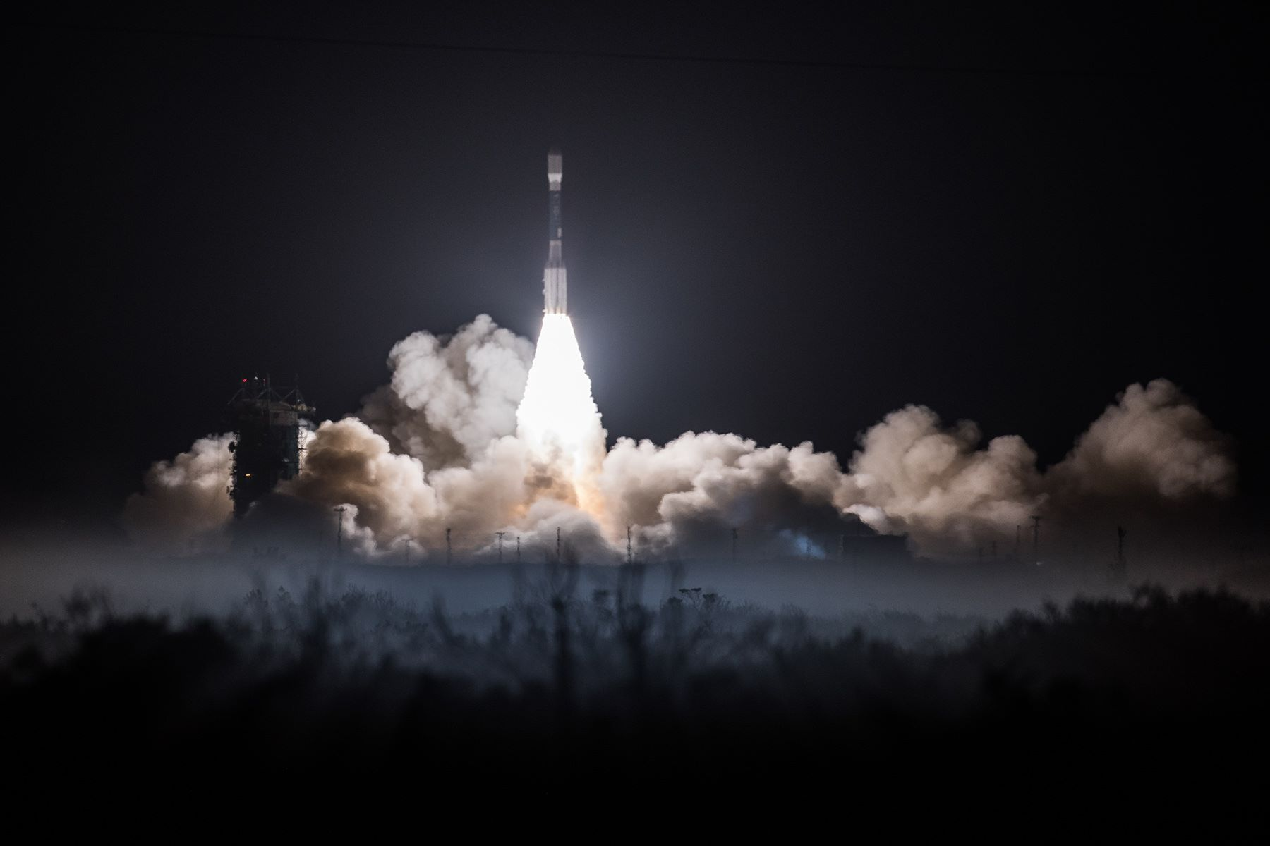Penultimate Delta  Rocket Launch Lofts Advanced Polar