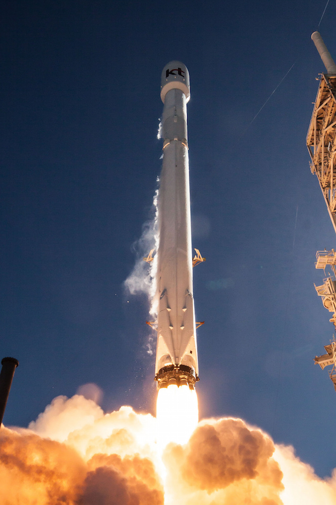 Photos From Last Weeks Falcon 9 Launch With Koreasat 5A
