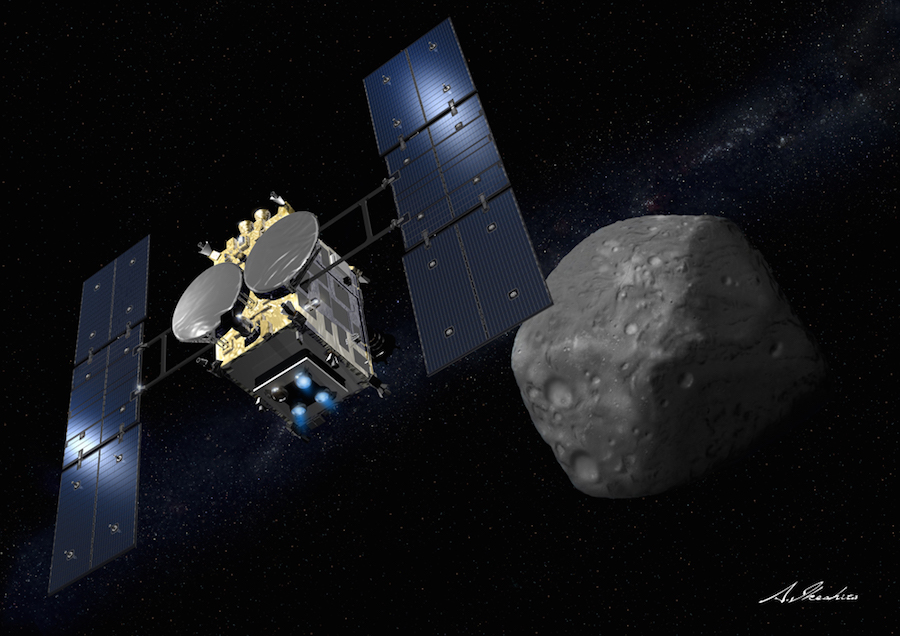 Asteroid Missions On Track To Reach Their Destinations In - Space track