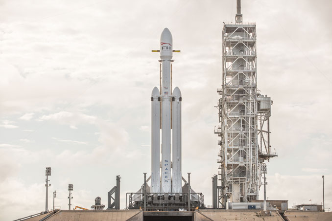 Space Exploration Technologies Corp. Launches its Biggest Rocket