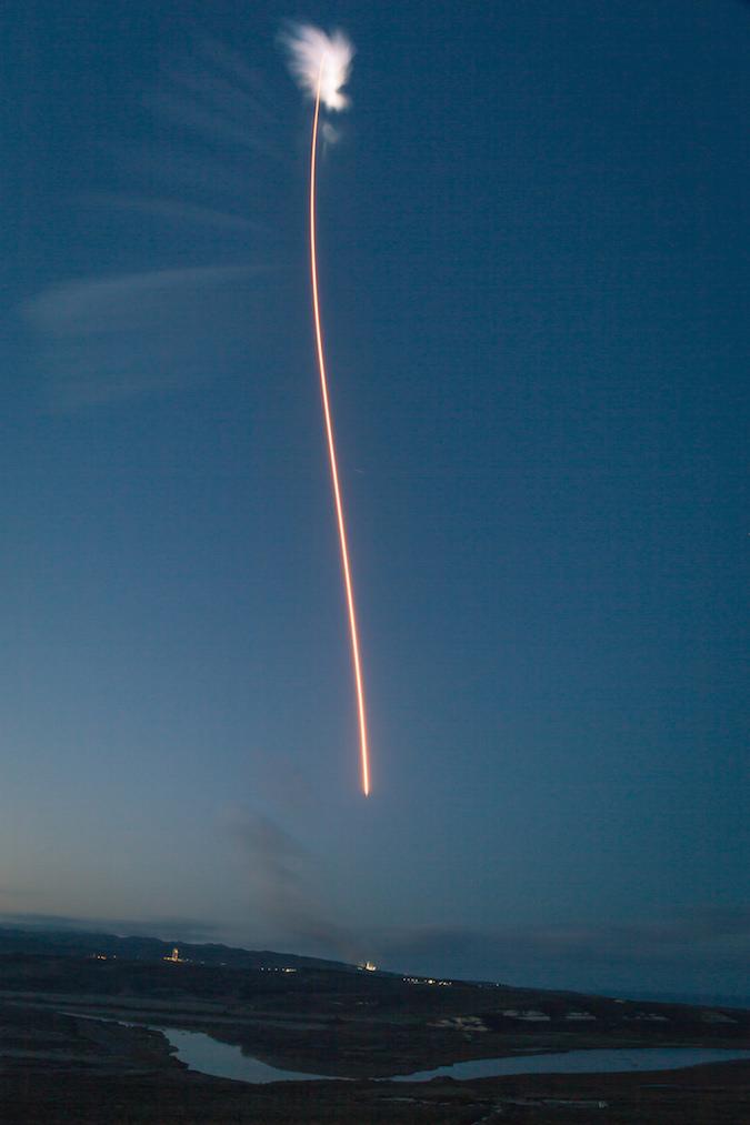 Photos Falcon 9 Rocket Fires Into Orbit With Paz