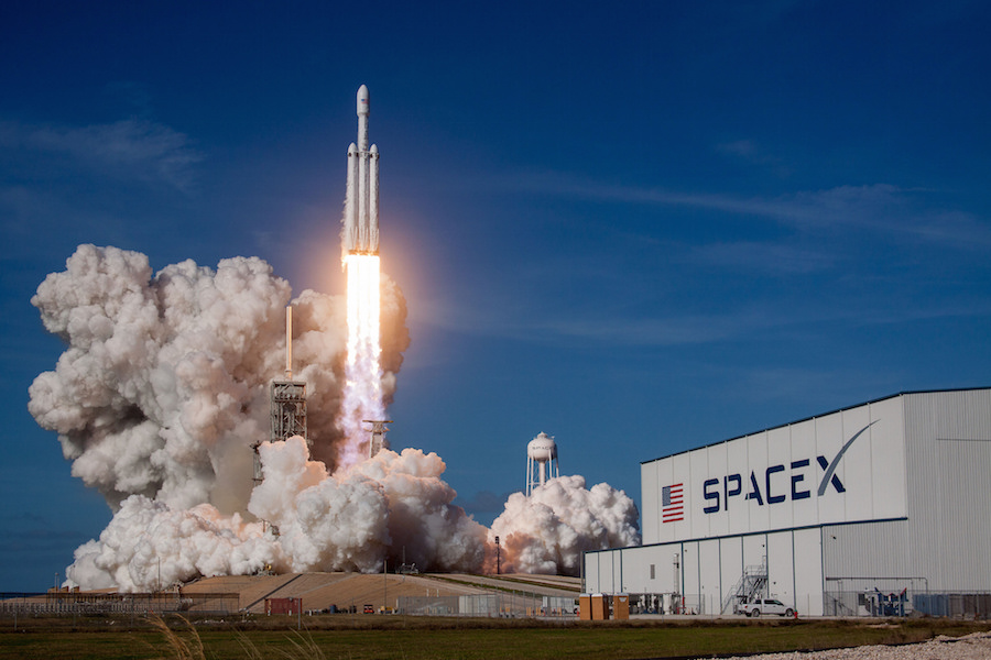 Air Force sees upcoming Falcon Heavy launches as key to certifying reused rockets