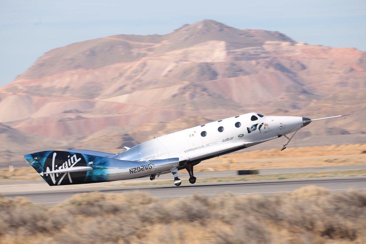 Virgin Galactic completes first rocket-powered test flight