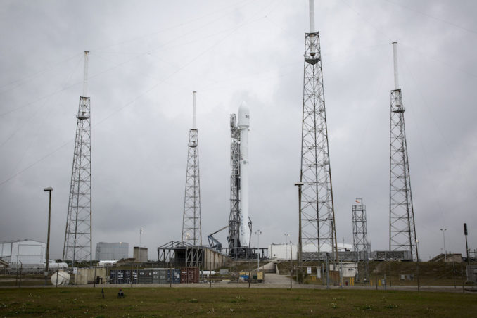 Live coverage: SpaceX poised to launch SES communications satellite