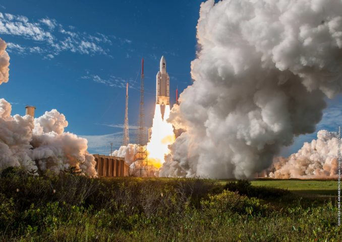 Successful Ariane 5 launch fills out European navigation fleet