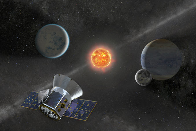 TESS's planet hunt begins