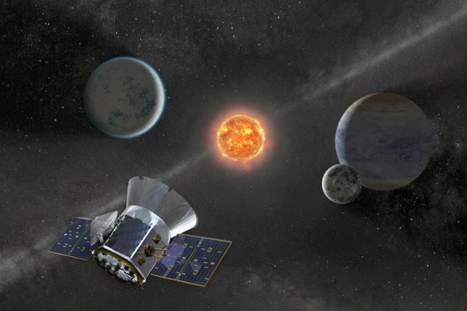 NASA's new planet hunter starts work