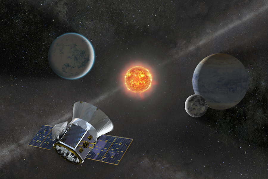 Astronomers announce first exoplanets discovered by NASA's