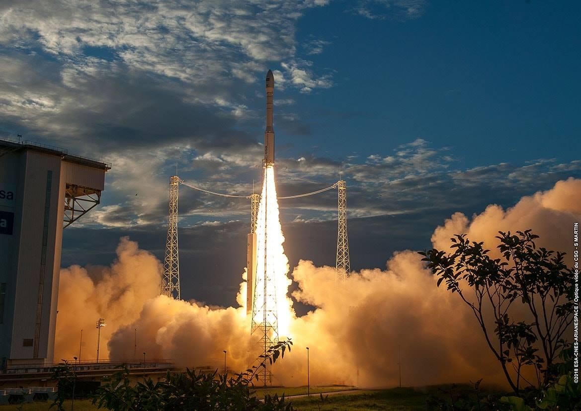 Pioneering European winds observatory launched aboard Vega rocket