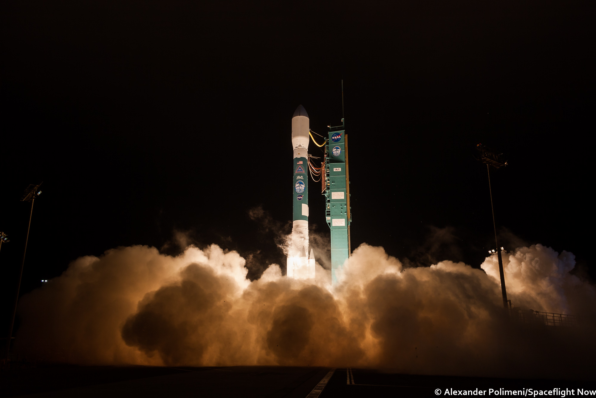 Early Morning Launch Closes Book On Delta 2 Legacy Spanning Nearly Infrared Video Of A Hovering Nasa Lander United Alliance Rocket Lifted Off At 602 Am Pdt 902 Edt 1302 Gmt Saturday From Vandenberg Air Force Base California