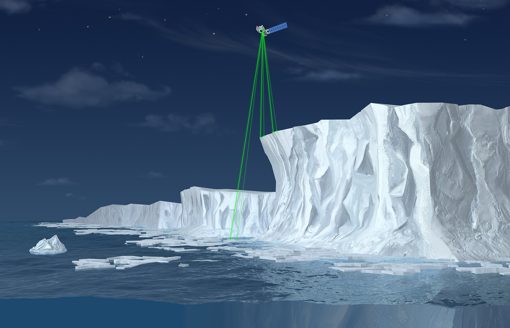 """Résultat de recherche d'images pour """"ICESat-2"""""""