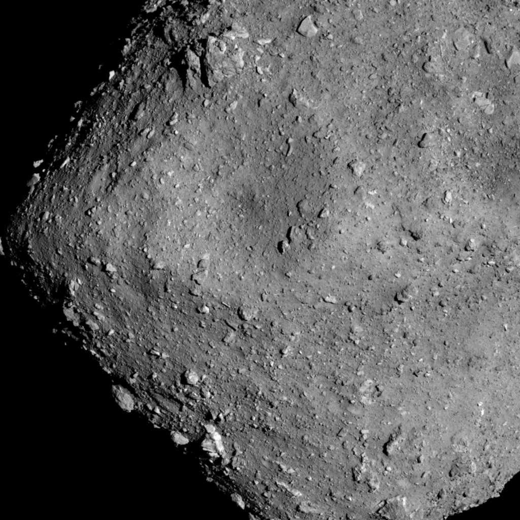 Japanese probe lands on asteroid to capture sample – Spaceflight Now