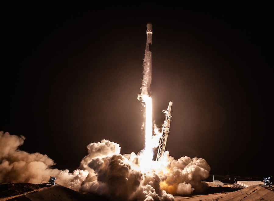Spacex Aces First Rocket Landing In California After Launching