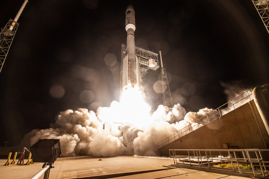 Air Force's fourth AEHF communications satellite successfully launched from Florida