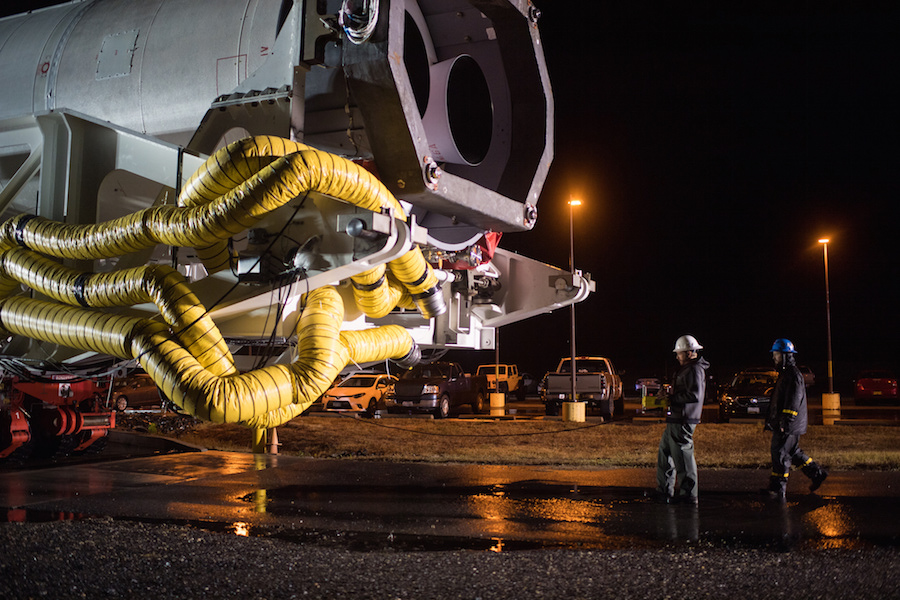 Antares rocket transferred to Virginia launch pad for ...