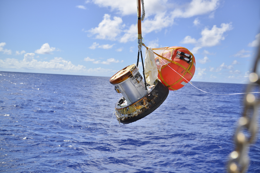 Japanese cargo capsule succeeds in re-entry tech demo