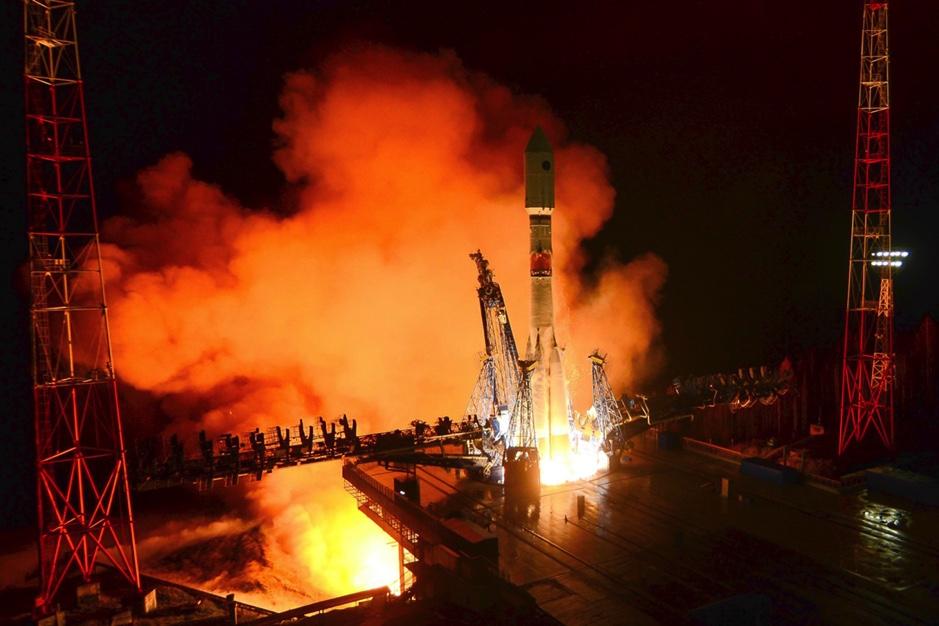 Glonass navigation satellite in orbit after Soyuz launch