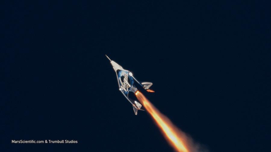 Virgin Galactic accomplishes milestone test flight to the edge of