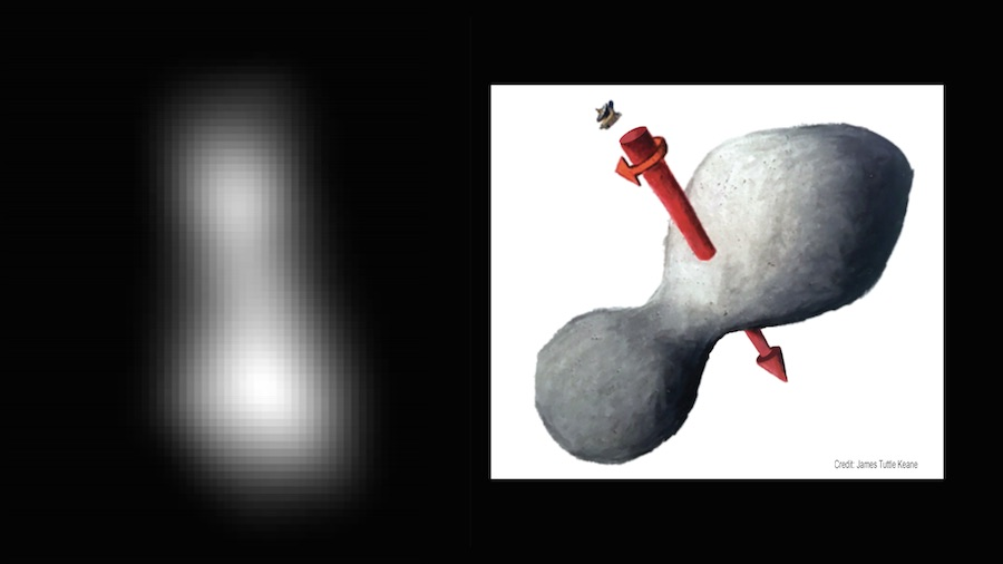 New Horizons scientists elated as Ultima Thule's shape comes into view