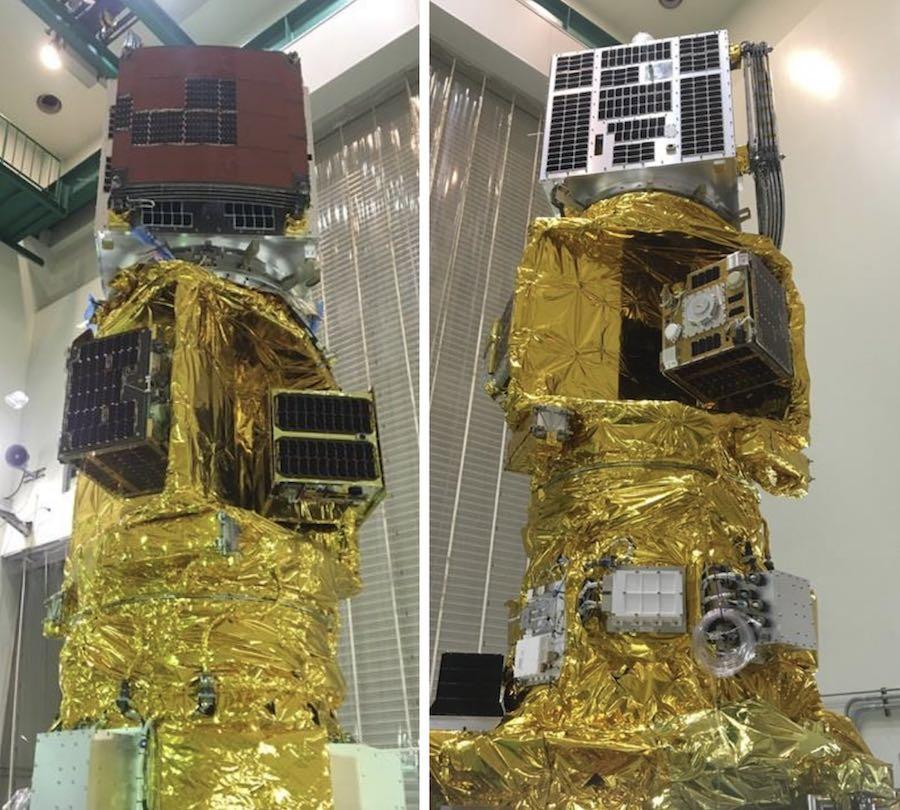 Japan's Epsilon rocket launches seven tech demo satellites