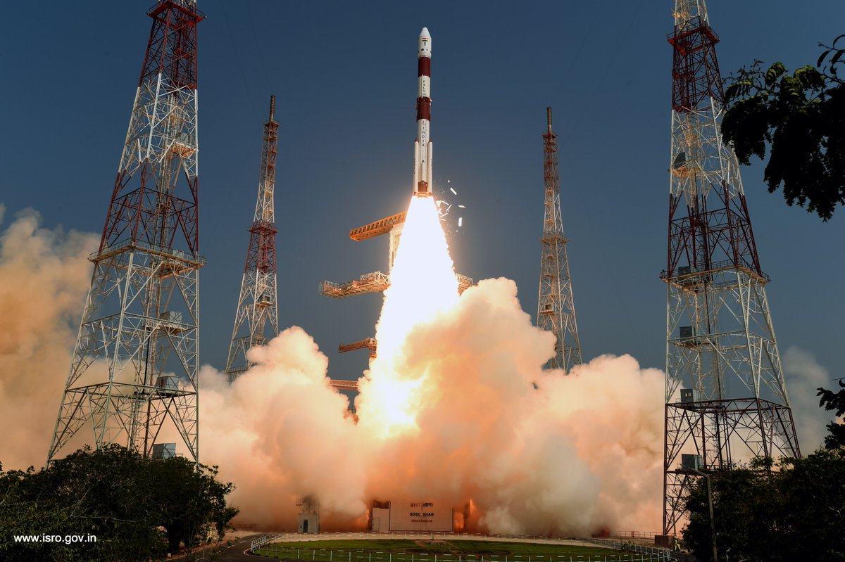 Indian military satellite, 20 more Planet imaging CubeSats launched
