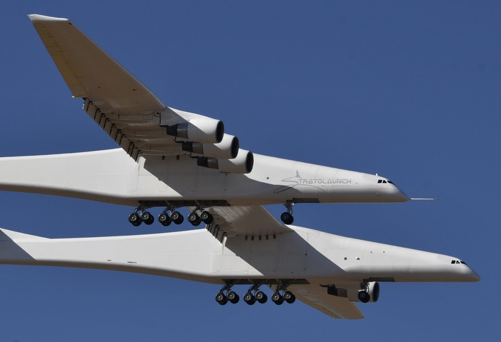World's largest airplane completes first flight