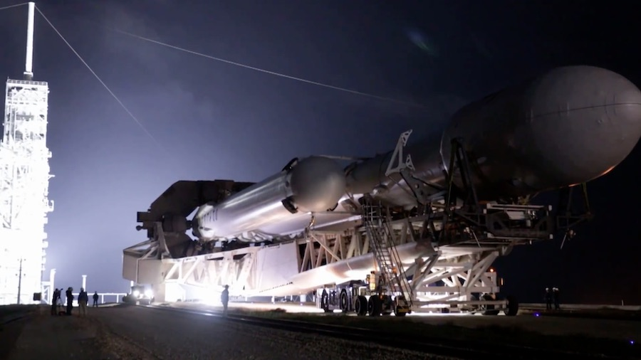 First Falcon Heavy night launch slips to June 24 – Spaceflight Now