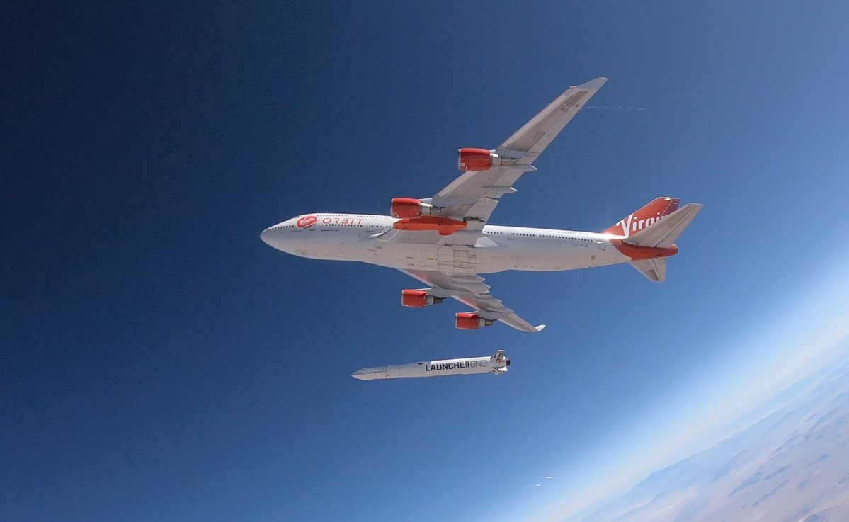 Drop test moves Virgin Orbit closer to first satellite launch