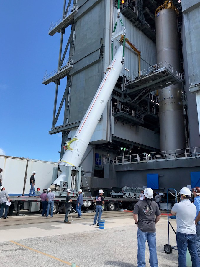 Solid rocket motor test-fired for Atlas 5 debut next year