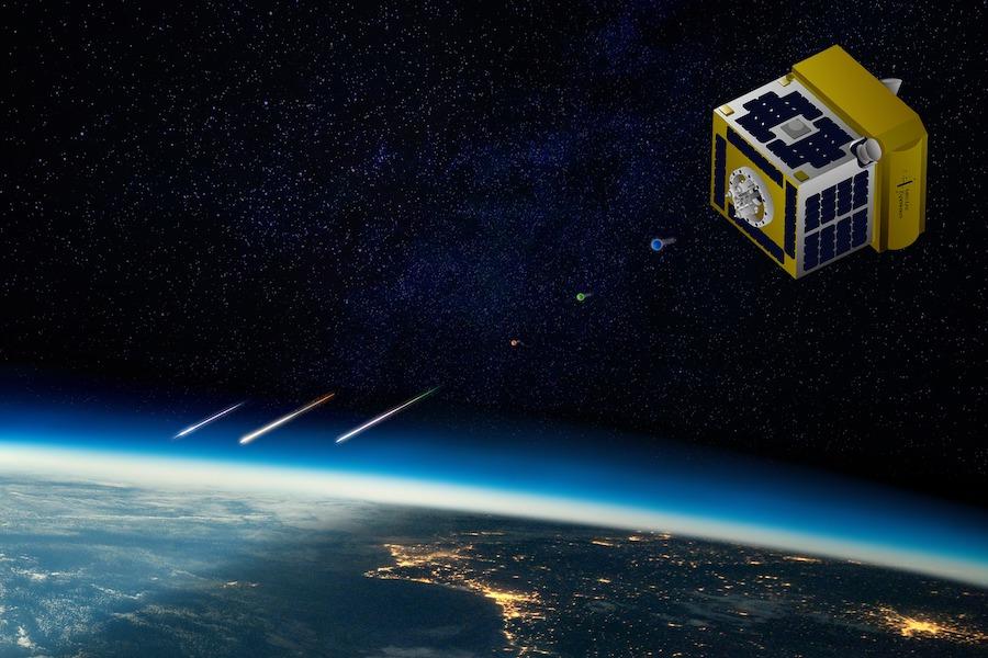 Japonský satelit vytvoří umělý meteorický déšť