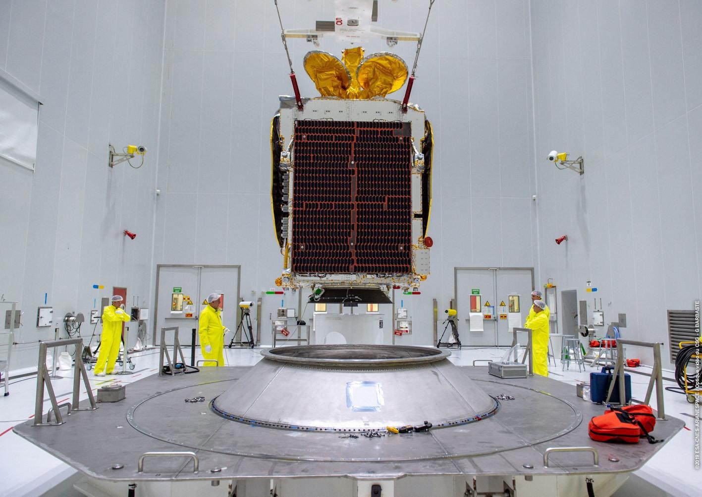 Launch of 250th Ariane rocket marks new era for Inmarsat broadband fleet