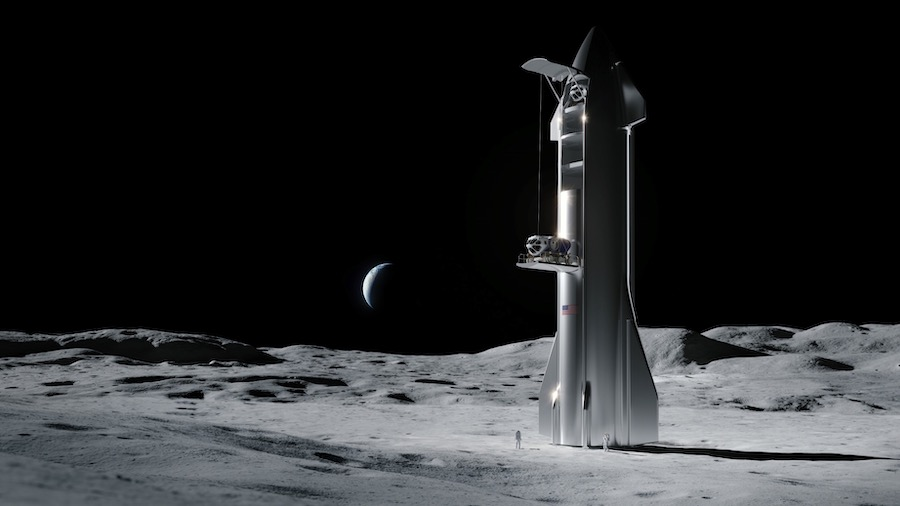 SpaceX offering Starship to NASA for lunar landing missions