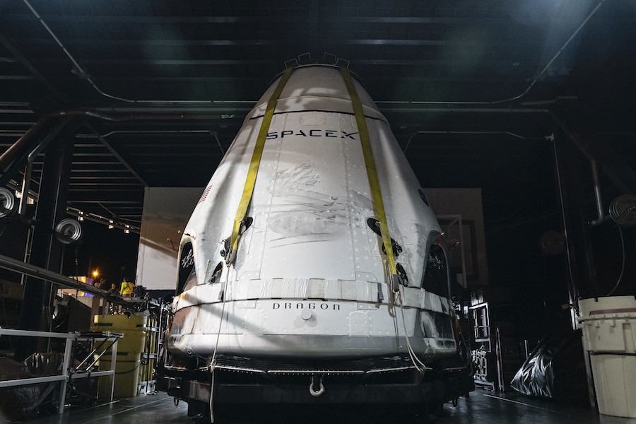 SpaceX releases preliminary results from Crew Dragon abort test