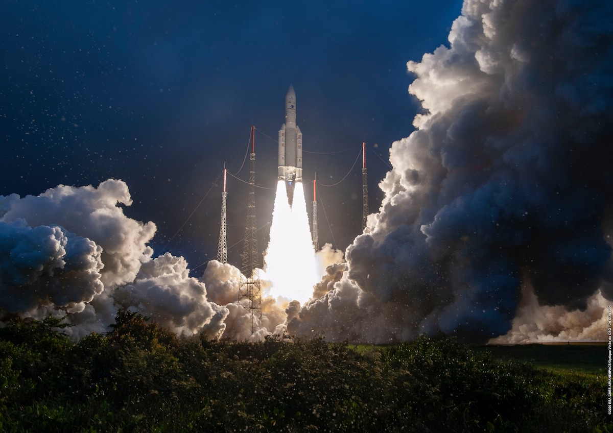 Arianespace opens busy year with successful Ariane 5 launch