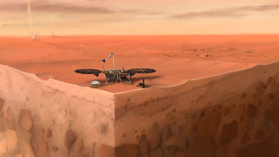 NASA's InSight mission shows Mars is a seismically active ...