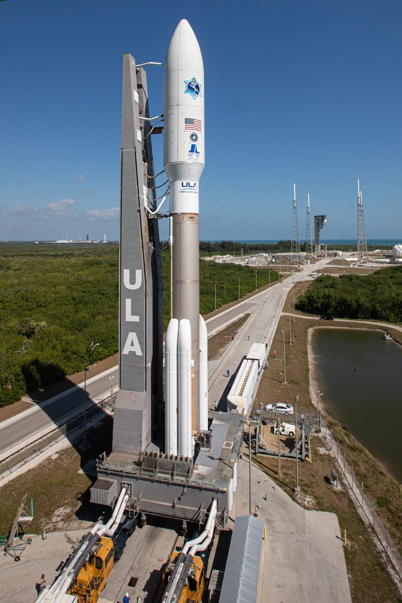 Photos: Atlas 5 rocket rolls out to launch pad at Cape Canaveral