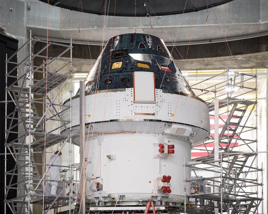 Facing pandemic, NASA shutters rocket factory, halts SLS and Orion testing