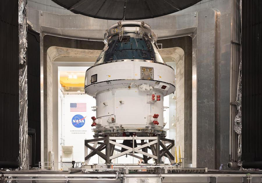 Back in Florida, Orion capsule nears readiness for Artemis test flight