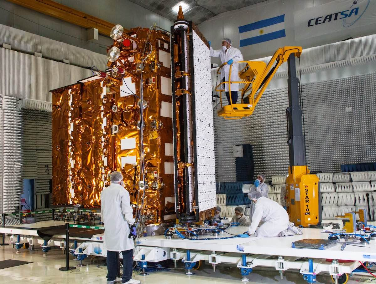 Coronavirus concerns force postponement of SpaceX launch with Argentine satellite