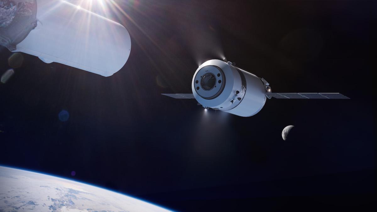 SpaceX vyvine novou verzi Dragonu, za pomoci rakety Falcon Heavy bude létat ke stanici Gateway