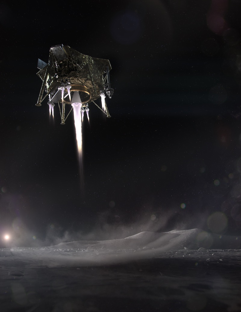 In parallel with rocket development, Firefly launches lunar lander initiative