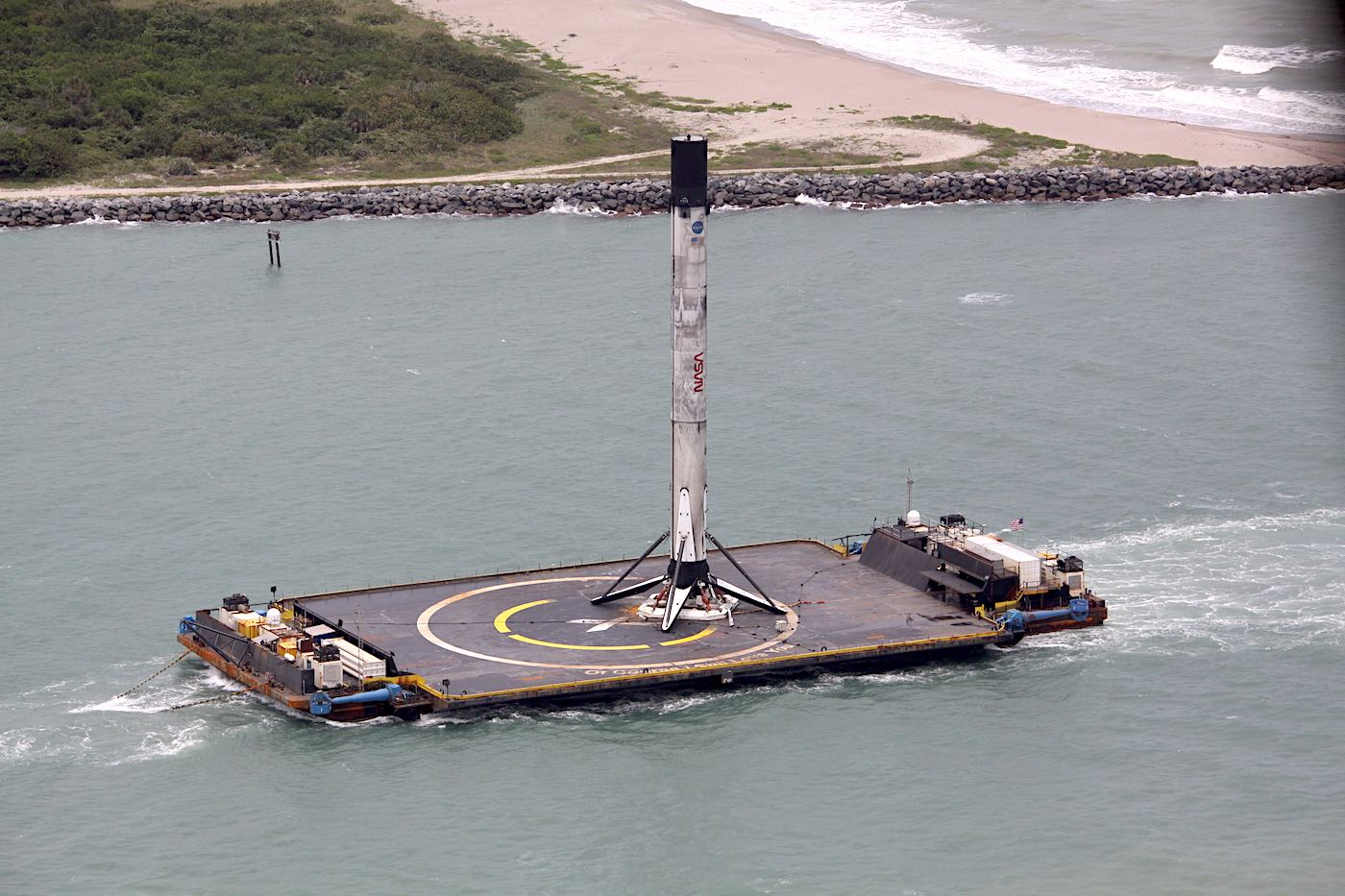 Next SpaceX launch will wait for improved ocean conditions