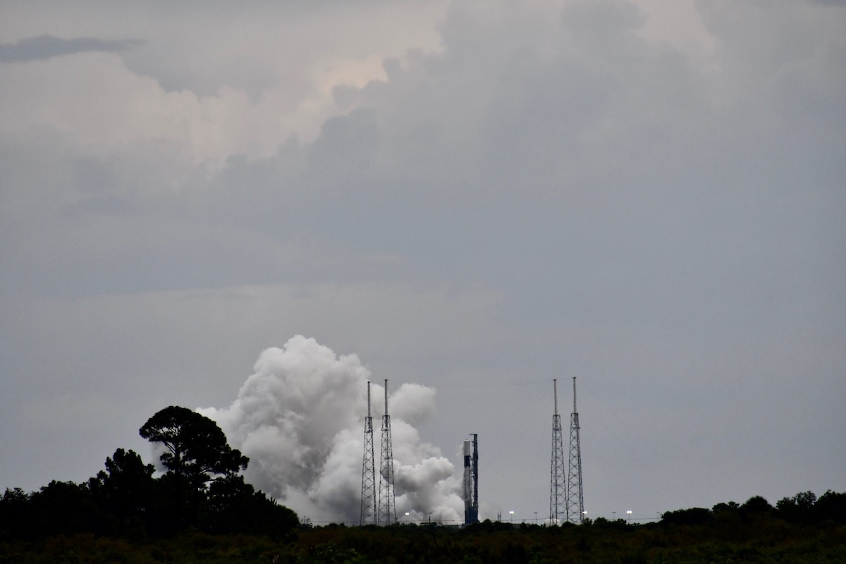 SpaceX test-fires Falcon 9 rocket launch next week with South Korean military satellite